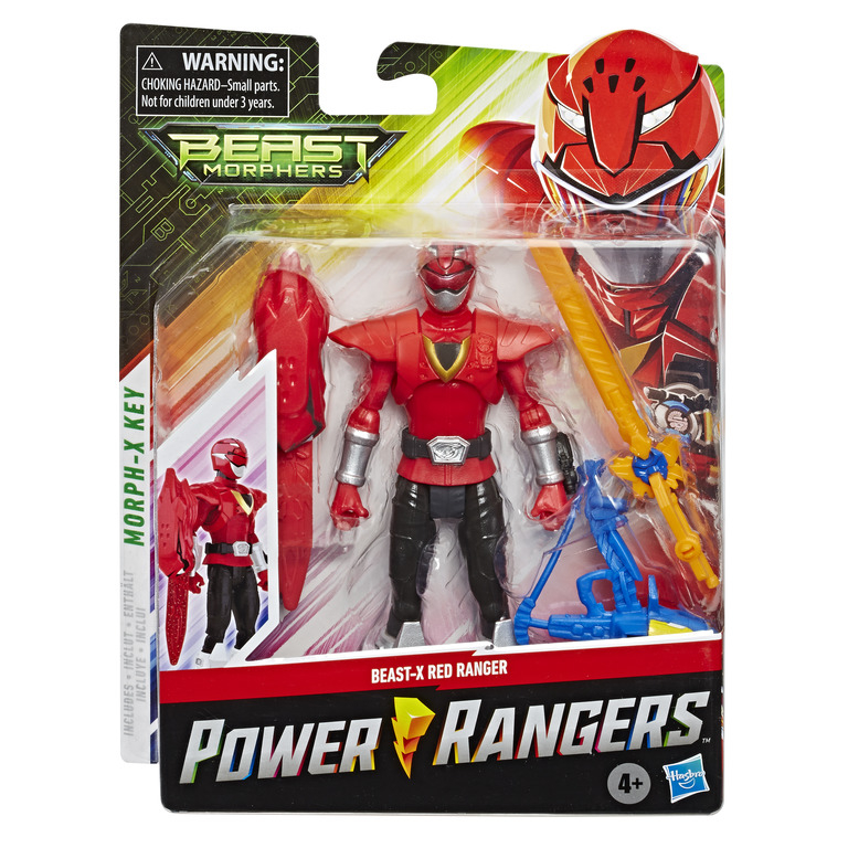 HASBRO POWER RANGERS 6inch BMR Core Figure