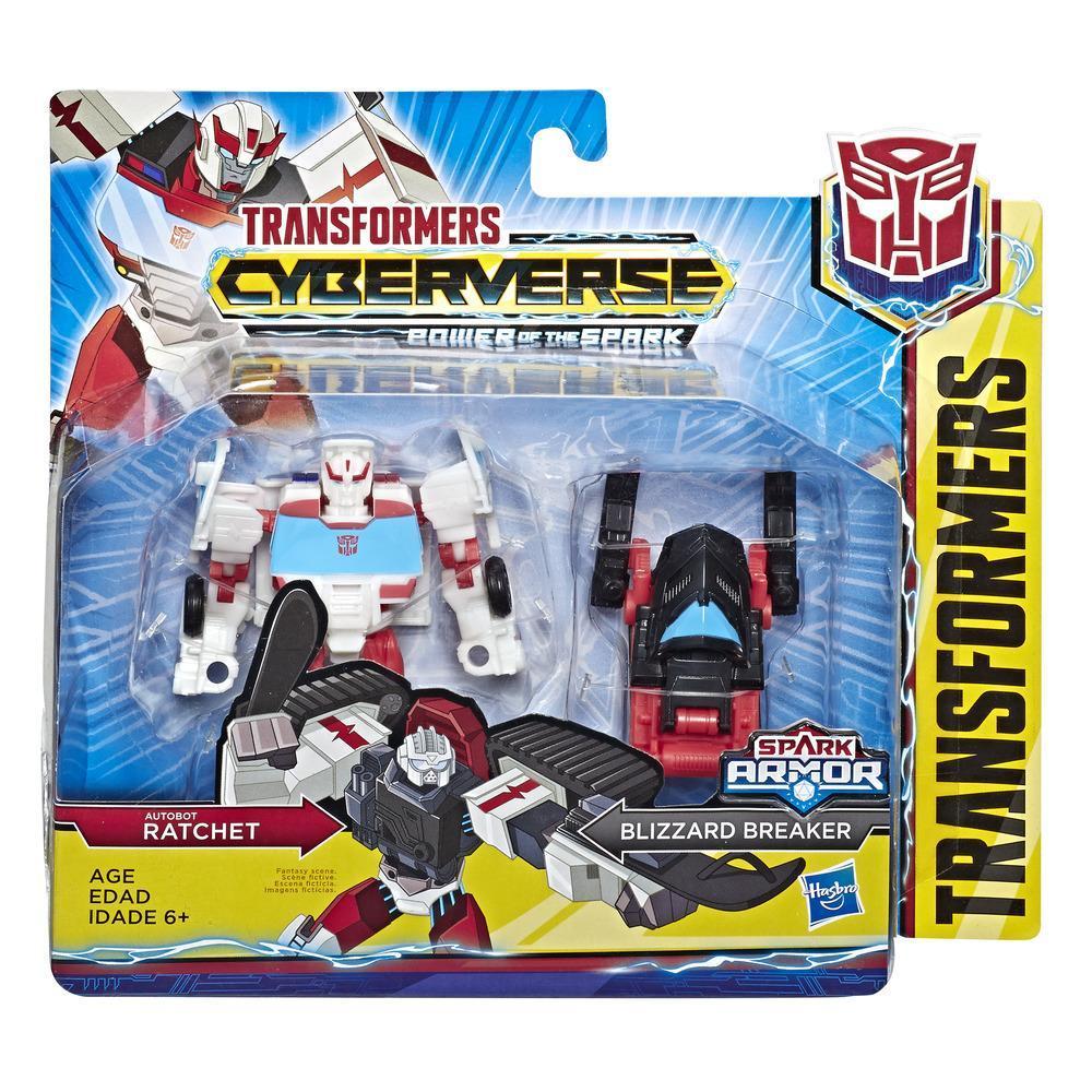 HASBRO TRANSFORMERS Cyberverse Spark Armor 15 ast