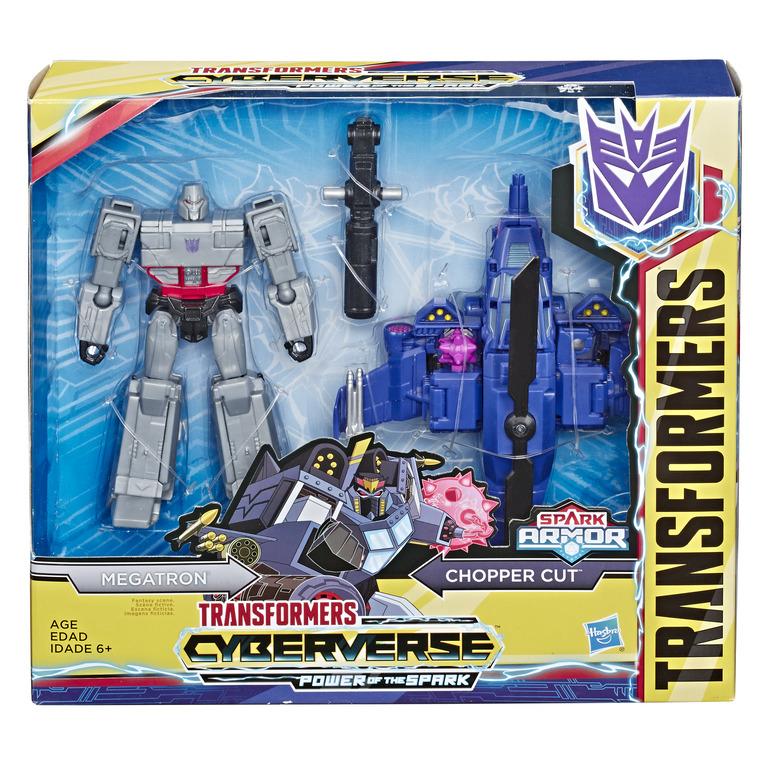 HASBRO TRANSFORMERS Cyberverse Spark Armor 25 ast