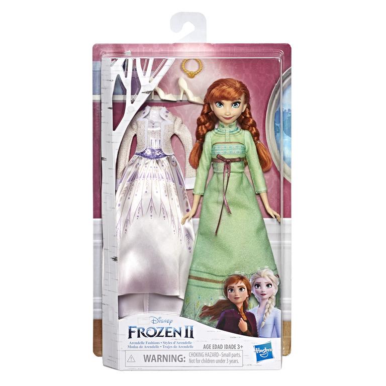 HASBRO DISNEY FROZEN 2 Doll And Extra Fashion Ast