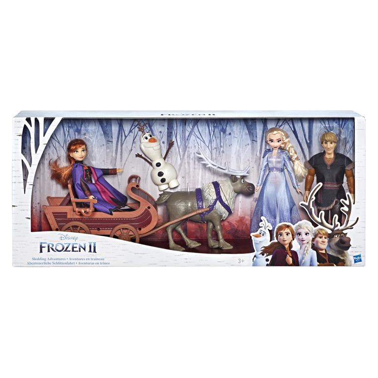 HASBRO DISNEY FROZEN 2 Character Multipack With Sled