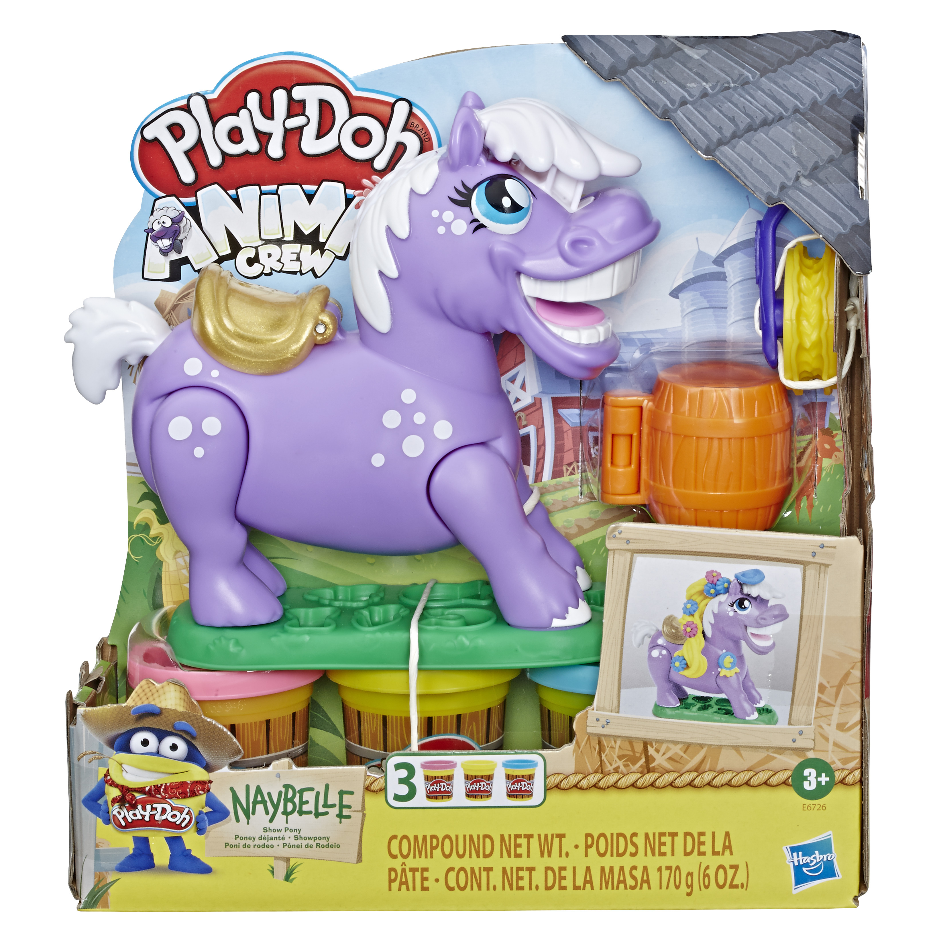HASBRO PLAY-DOH Naybelle Show Pony