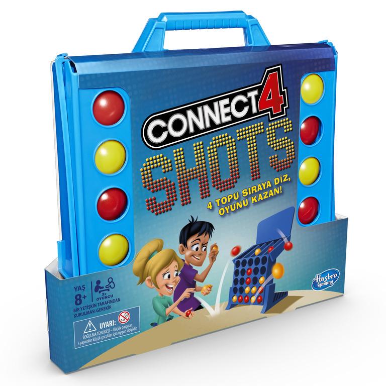 HASBRO Lauamäng Connect 4 Shots