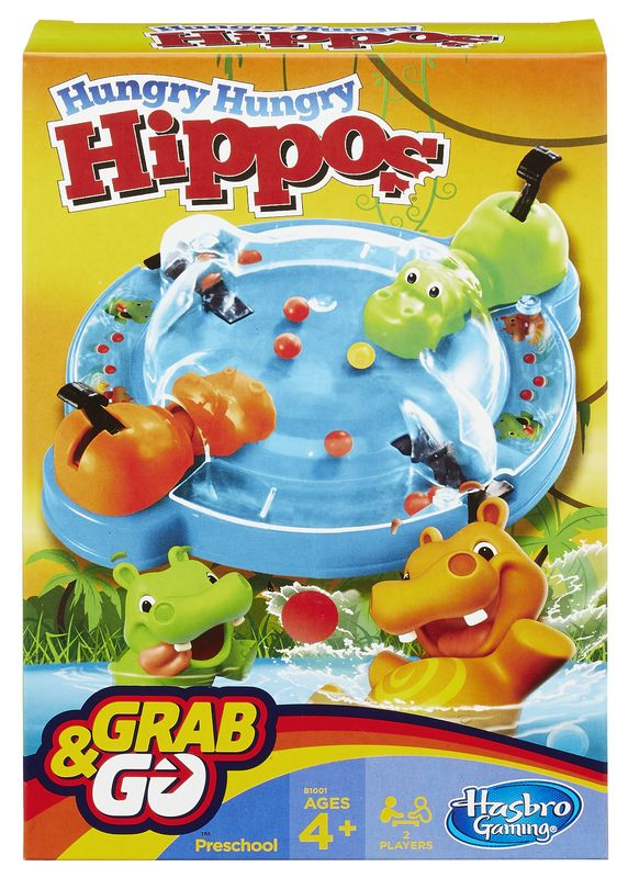 HASBRO Hungry Hipo -peli
