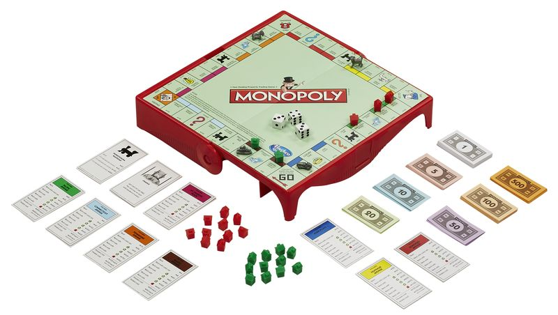 HASBRO GRAB&GO Monopoly