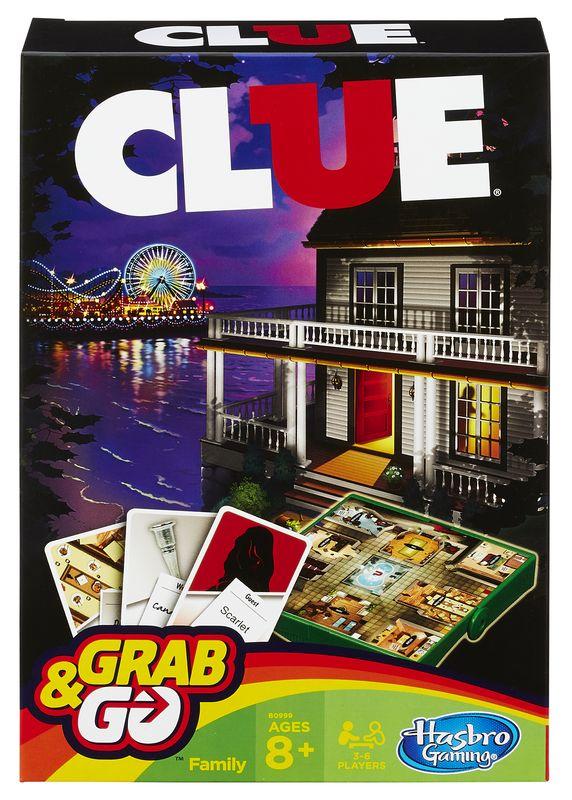 HASBRO GRAB&GO Clue Do