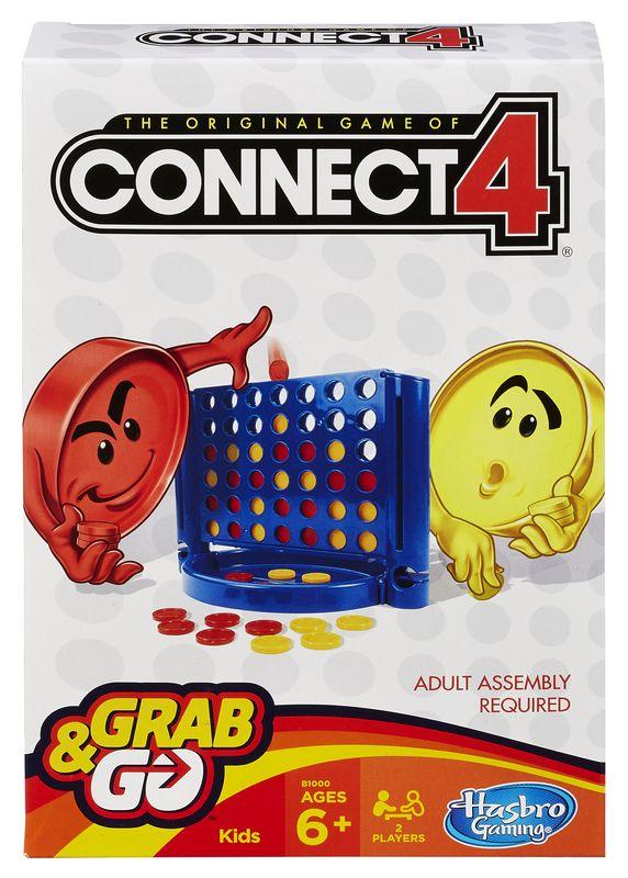 HASBRO GRAB&GO Connect 4