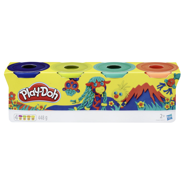 HASBRO PLAY-DOH Classic color ast