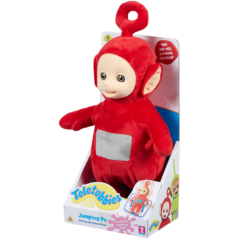 CHARACTER TELETUBBIES Jumping Po 28 cm