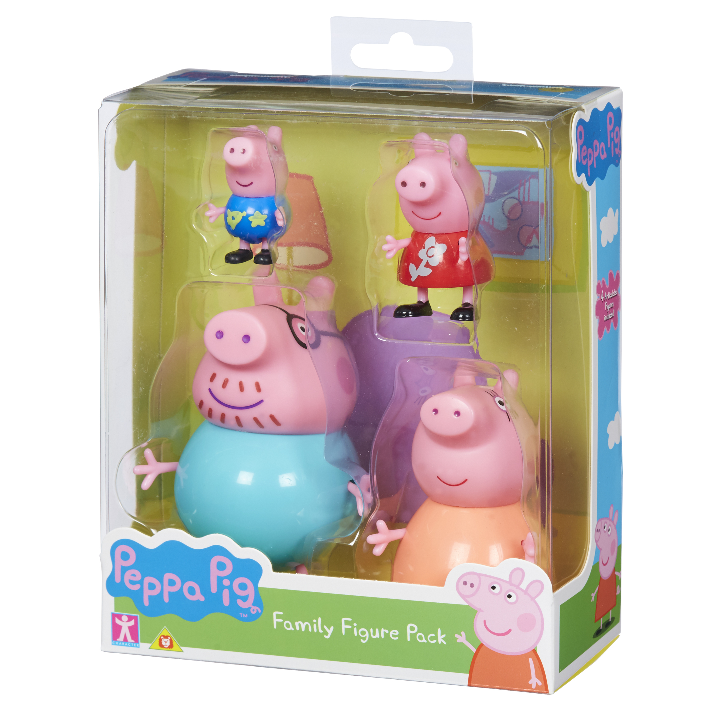 CHARACTER PEPPA PIG Family Figure Pack