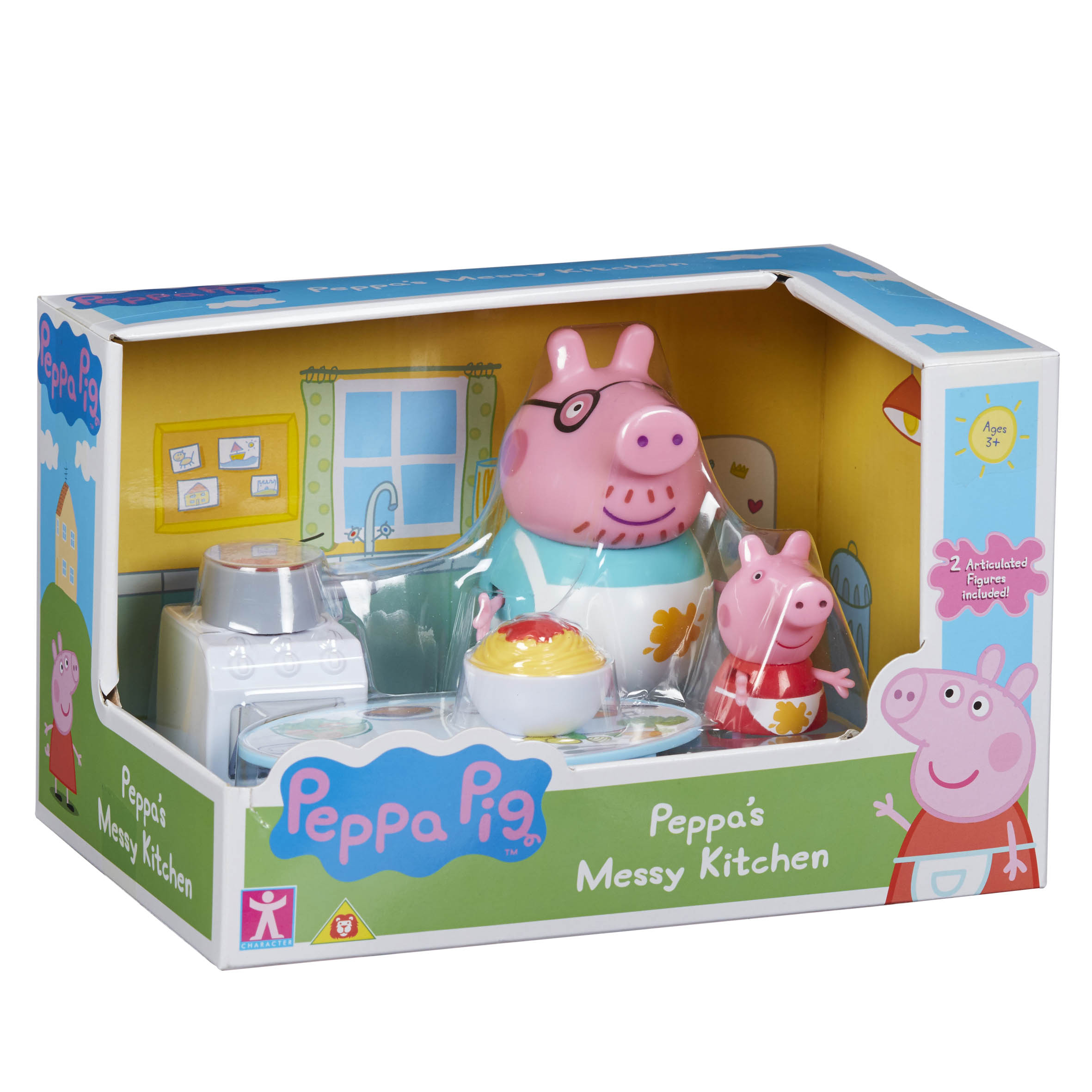 CHARACTER PEPPA PIG Kitchen Playset