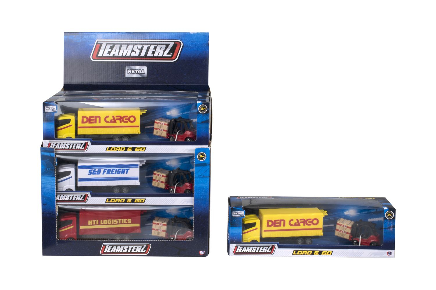 "HTI TEAMSTERZ 5"" Load & Go Truck"