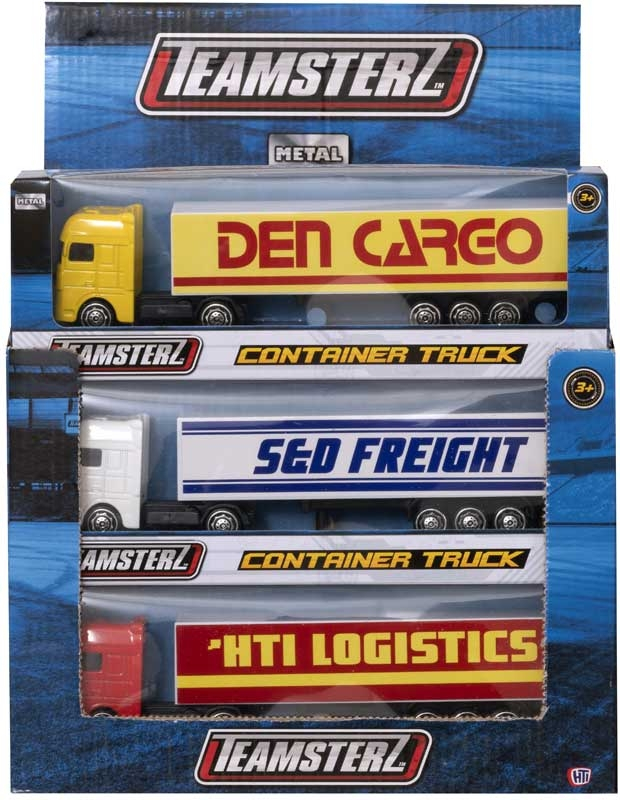 "HTI TEAMSTERZ 5"" Small Container Truck"