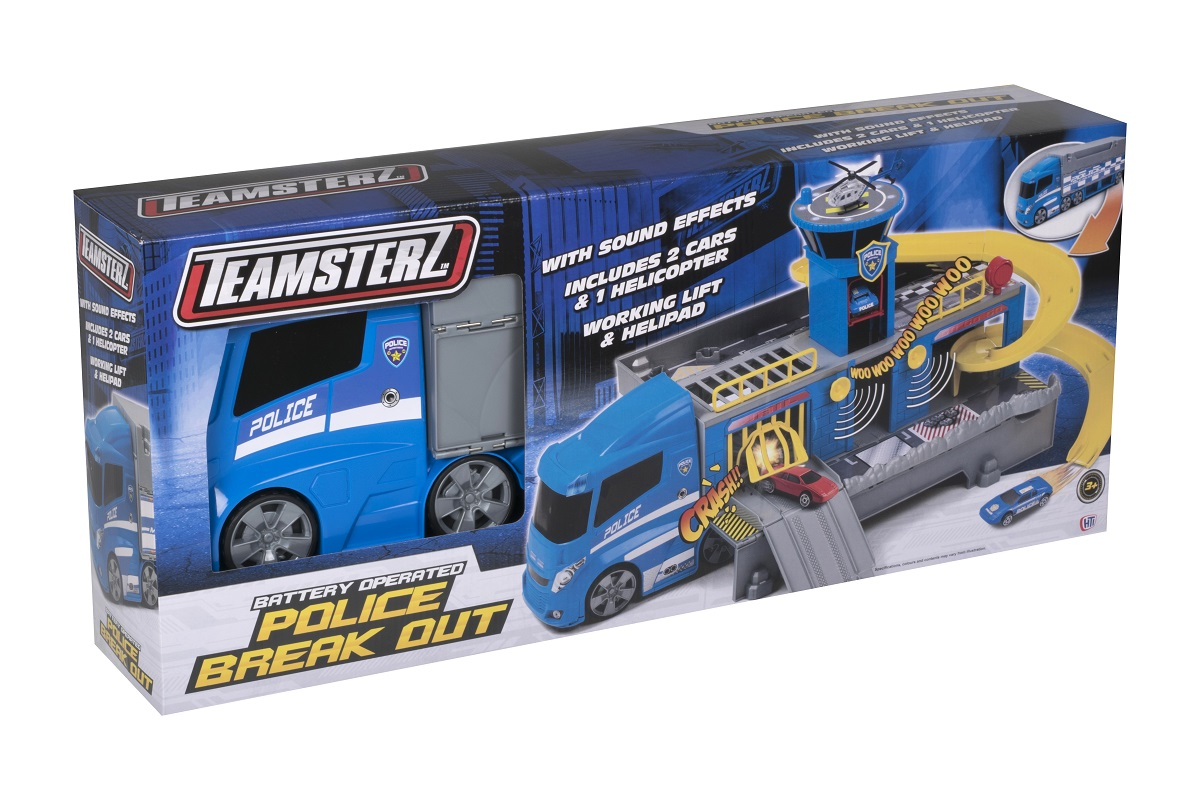 HTI TEAMSTERZ Police Car with Light and Sound