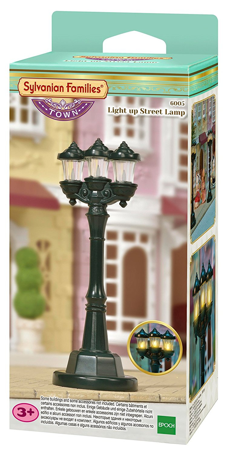 SYLVANIAN FAMILIES LIGHT UP STREET LAMP