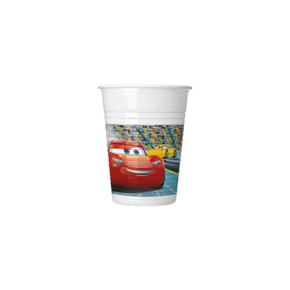 CARS 3 PLASTIC CUPS 200 ML (8PCS)