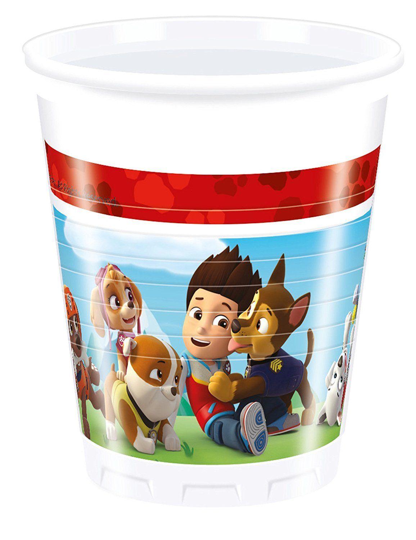 PAW PATROL PLASTIC CUPS 200ML 8PSC