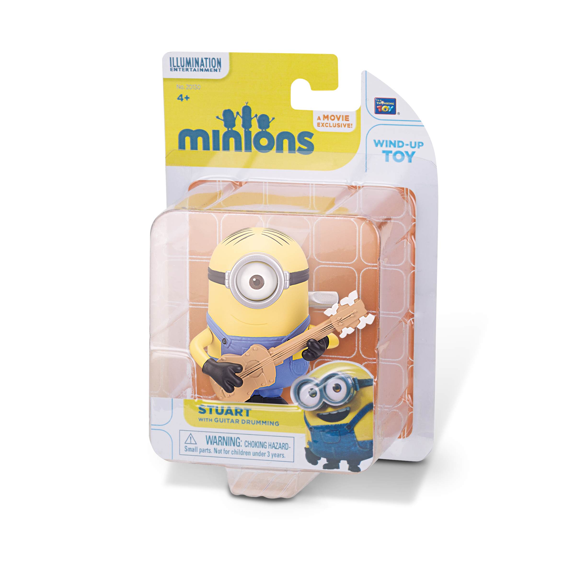 MINIONS Wind Up Action Figures