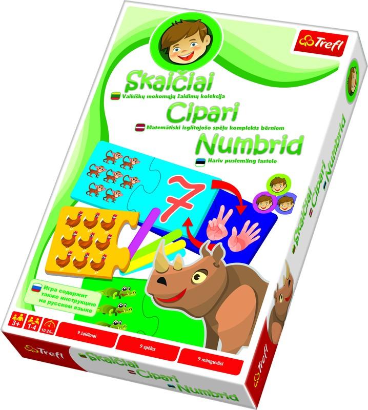 EDUCATIONAL GAME DIGITS (BALT)
