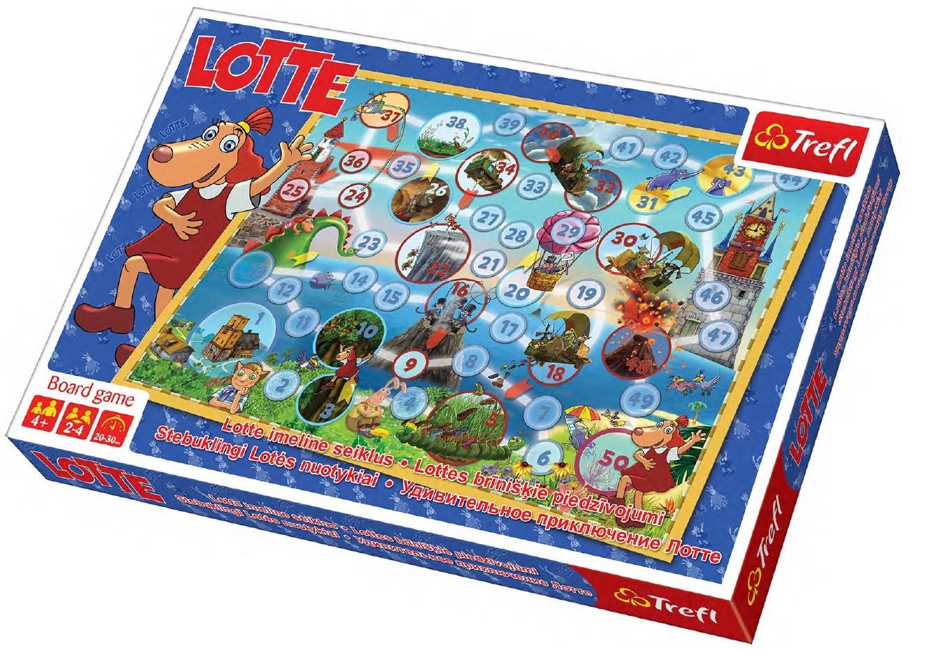 TREFL Lotte lauamäng