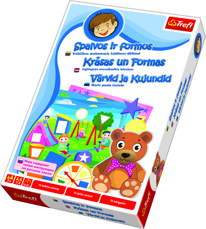 EDUCATIONAL COLORS AND SHAPES GAME (BALT)