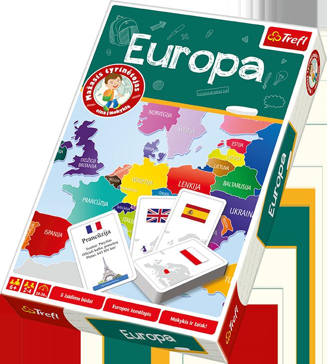 "TREFL Haridusmäng ""Euroopa"" (LT)"