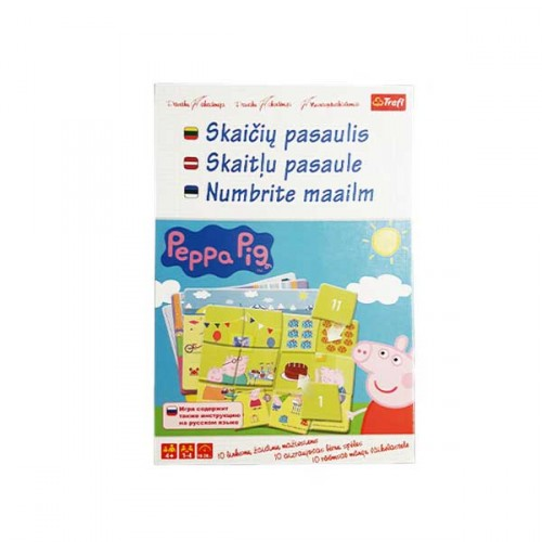 PEPPA THE WORLD OF DIGITS