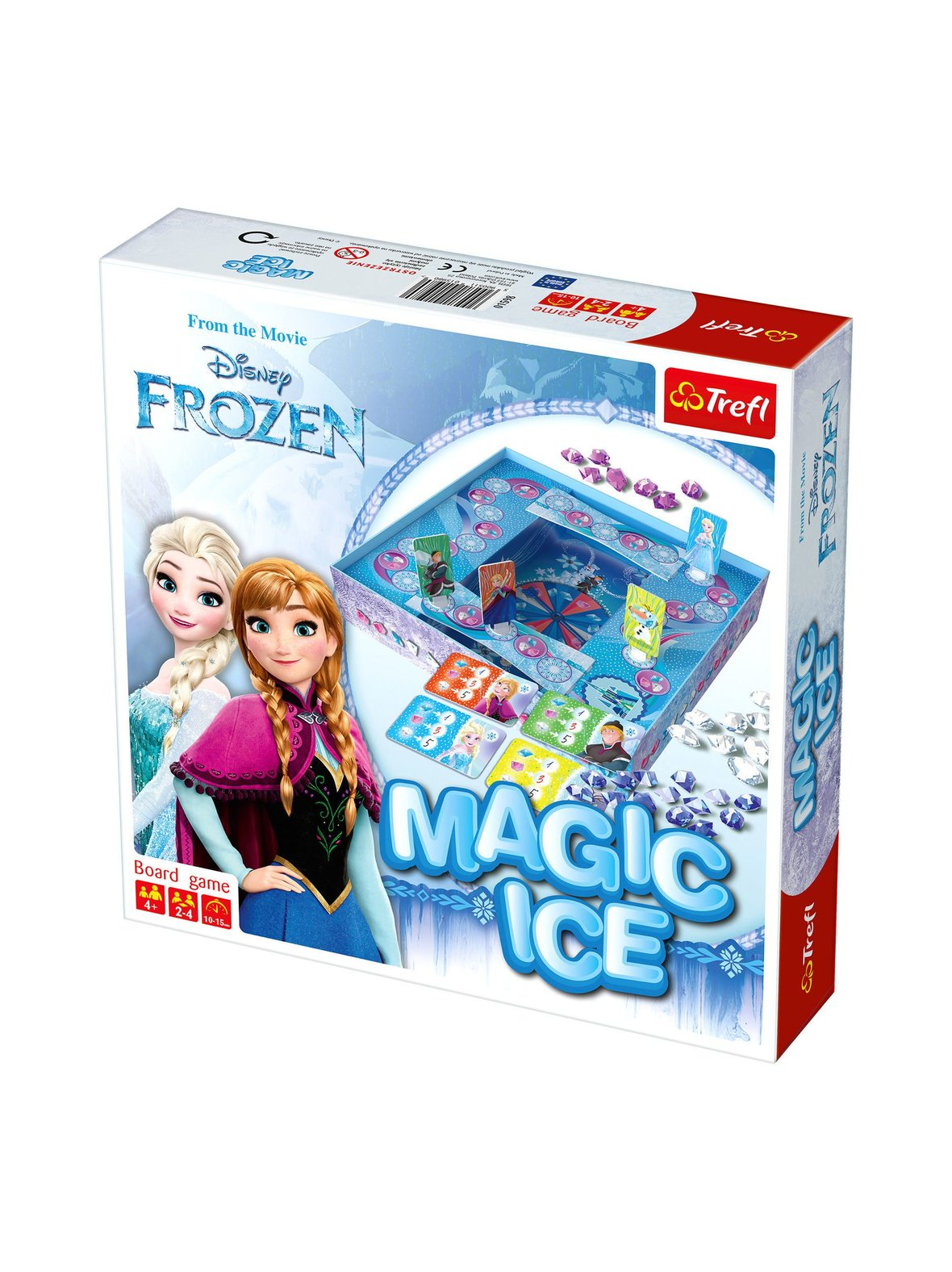 FROZEN MAGIC SNOW BOARDGAME (MULTI)
