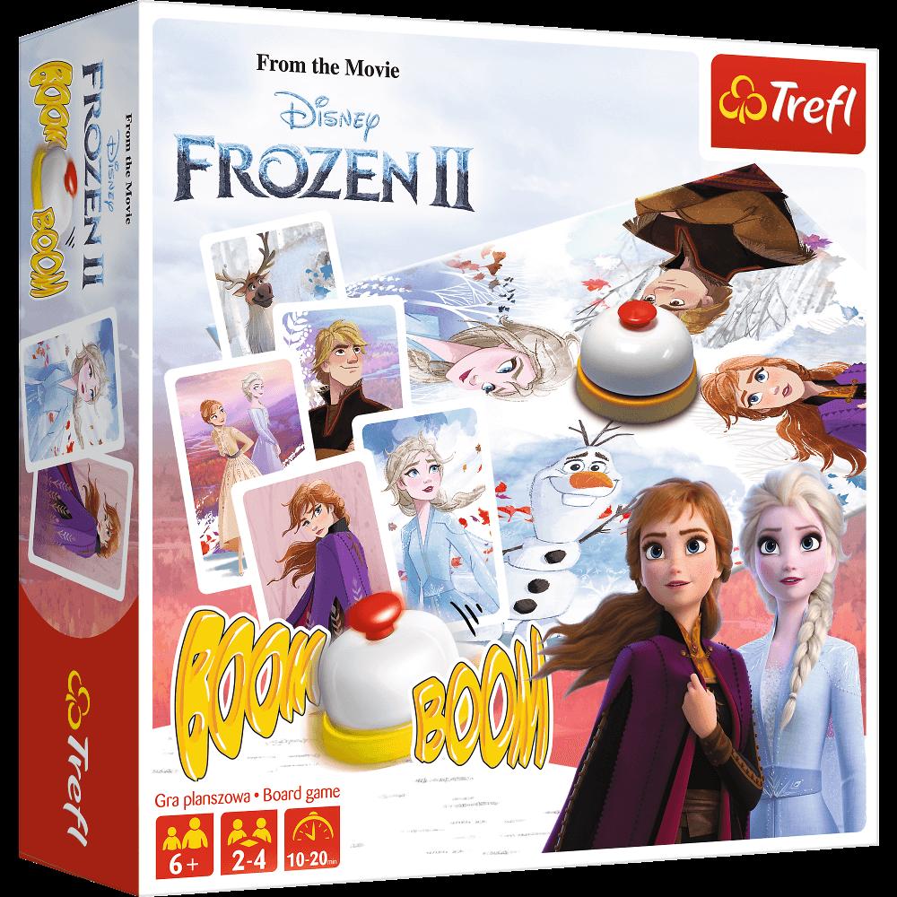 TREFL Frozen 2 lautapeli BoomBoom BALT FIN