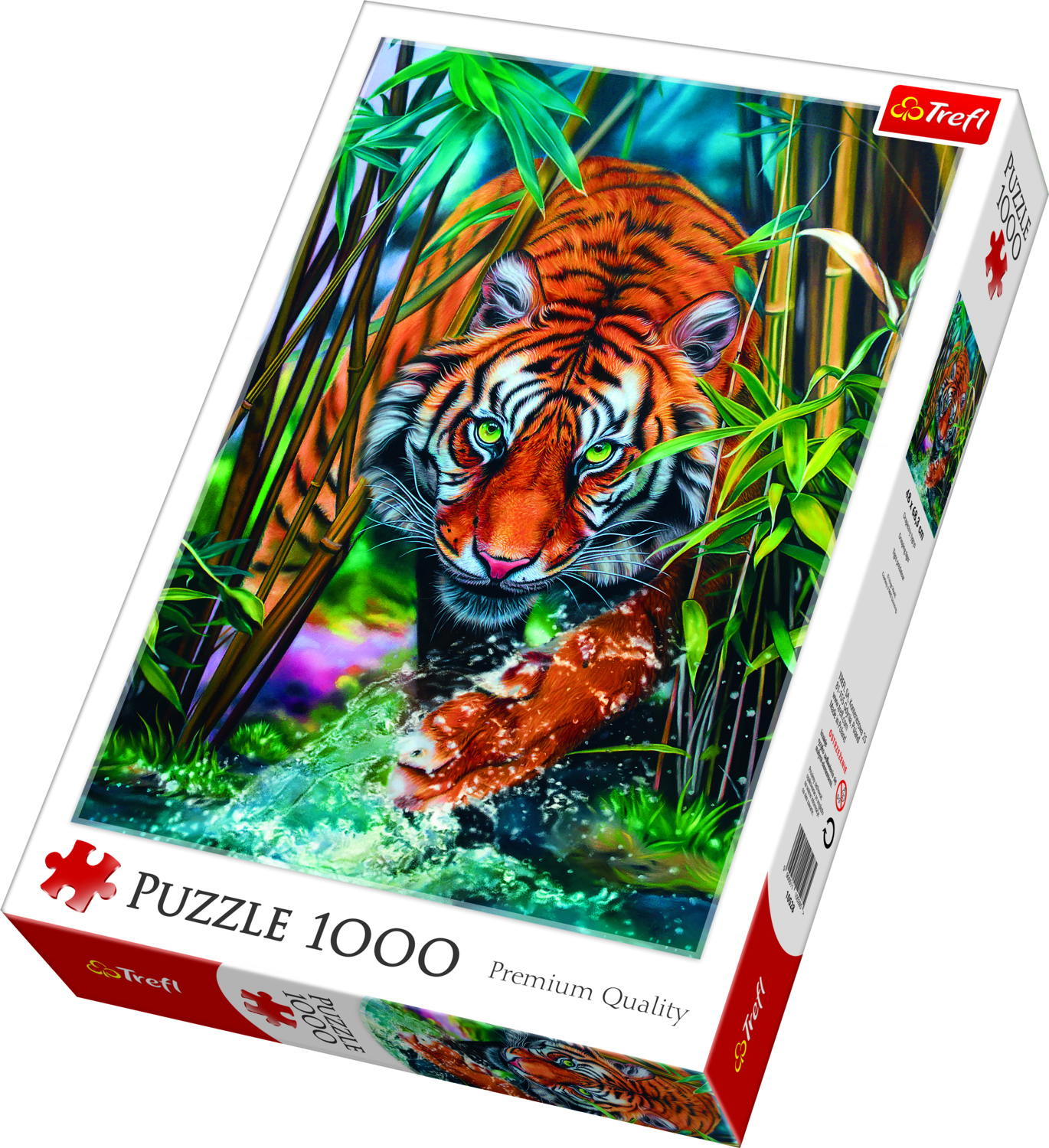 PUZZLE 1000 GRASPING TIGER