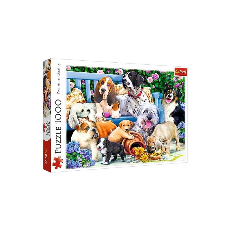 TREFL Palapeli 1000 Koiranpennut