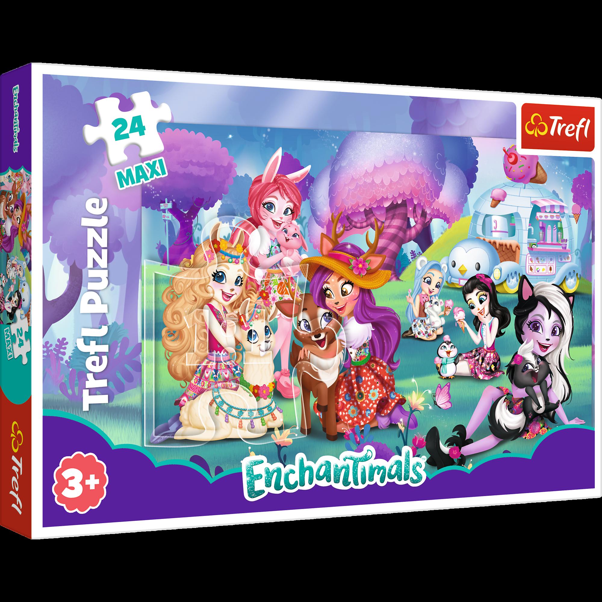 TREFL Puzle 24 Enchantimals