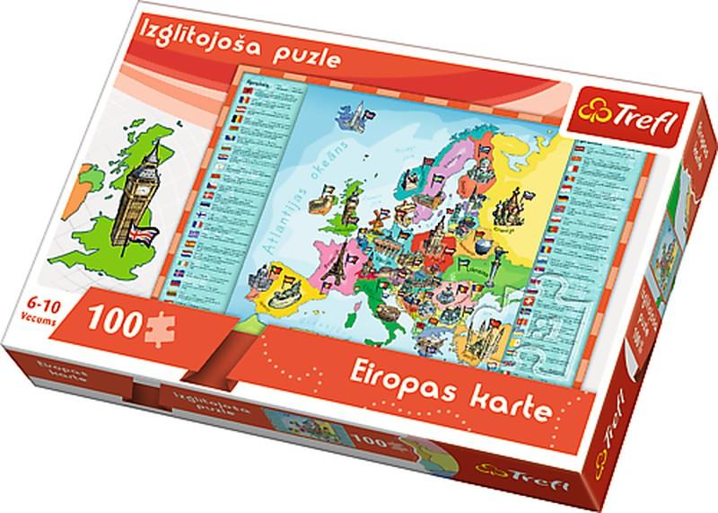 "TREFL Hariduspusle ""100 euro"" (LV)"