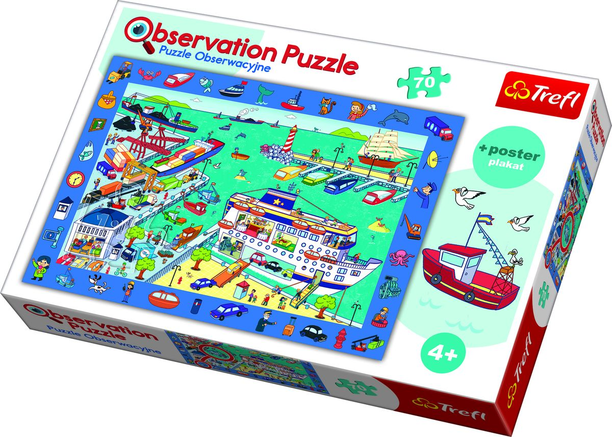 OBSERVATION PUZZLE SEAPORT