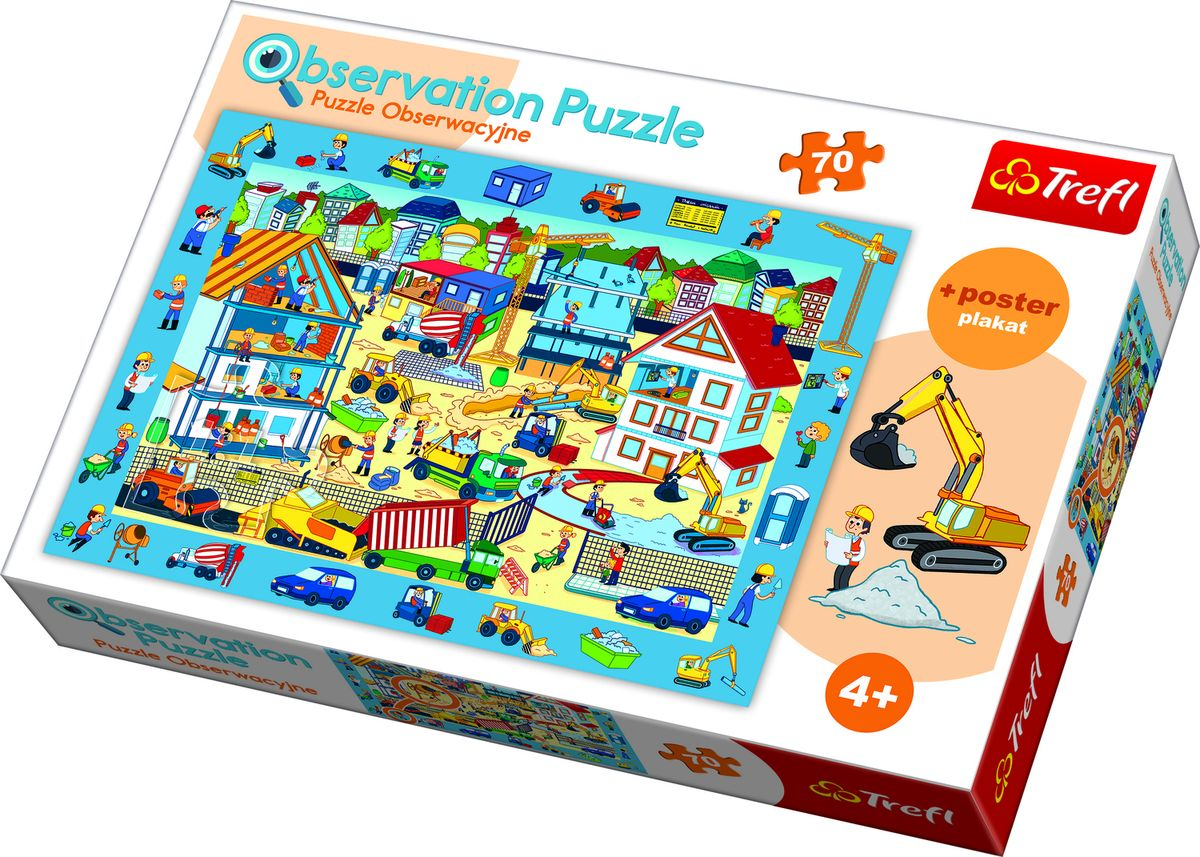 OBSERVATION PUZZLE CONSTRUCTION SITE