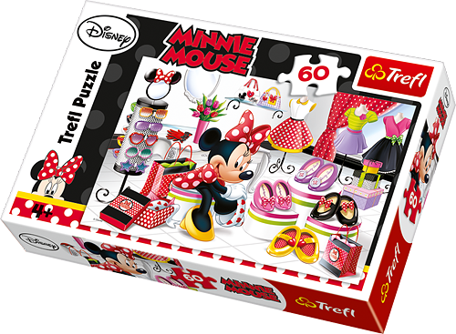 PUZZLE 60 MINNIE MOUSE