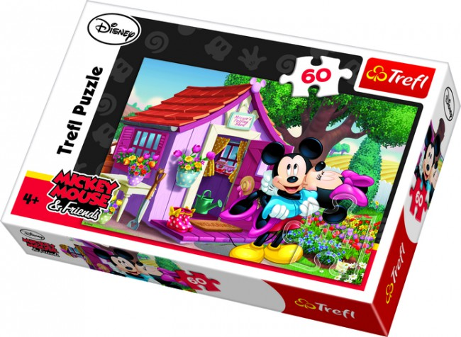 PUZZLE 60 MICKEY AND MINNIE