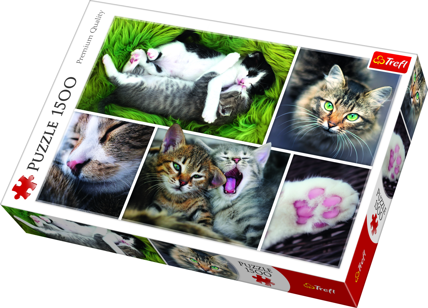 PUZZLE 1500 CATS