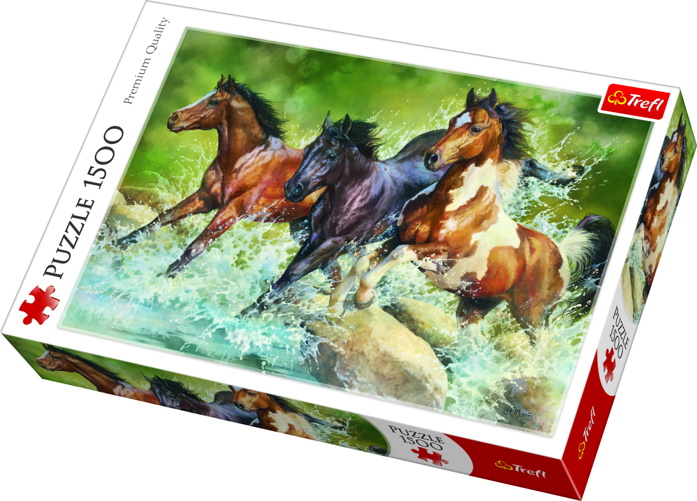 PUZZLE 1500 HORSES