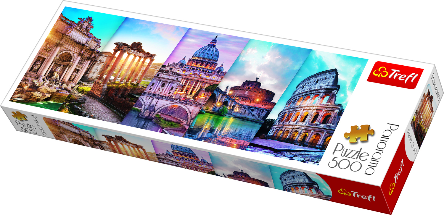 PANORAMIC PUZZLE 500 ITALY