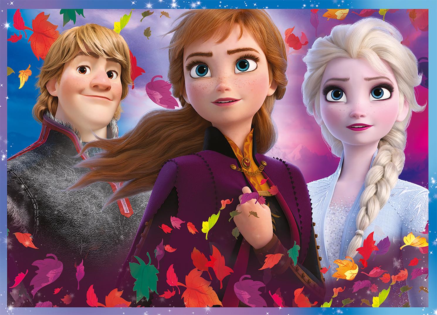 TREFL Pusle Frozen 2 (4 in 1)
