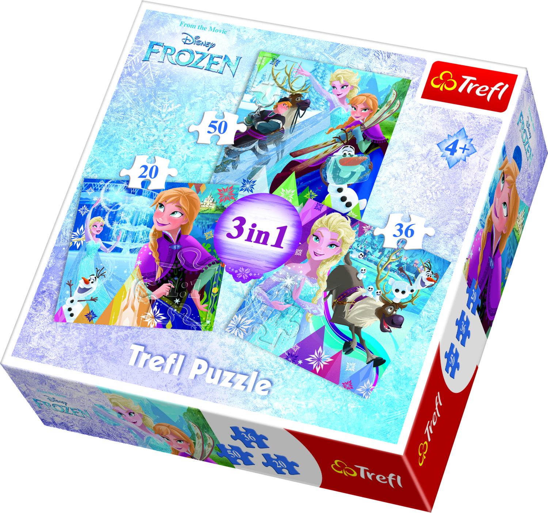 TREFL Pusle komplekt Frozen (3 in 1)