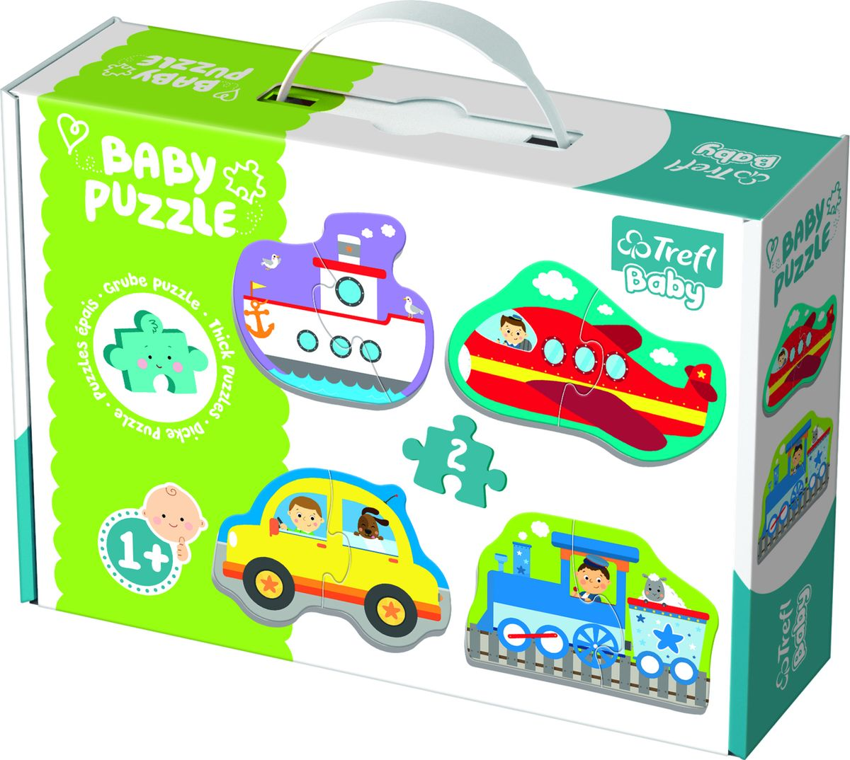 BABY PUZZLE TRANSPORT VEHICLES