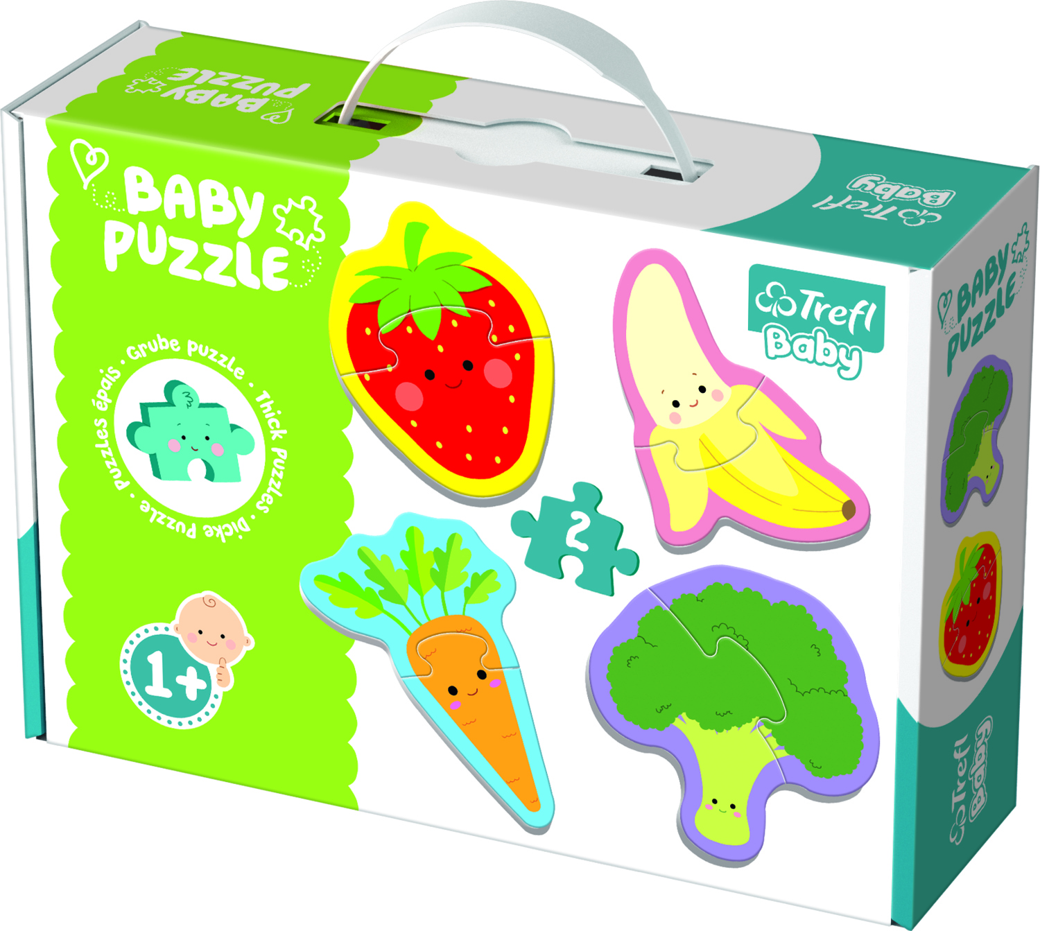 BABY PUZZLE FRUITS AND VEGETABLES
