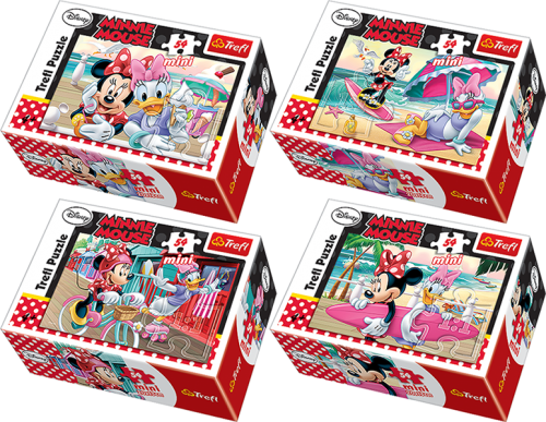 MINI PUZZLE 54 MINNIE MOUSE