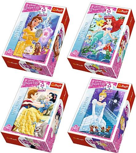 MINI PUZZLE 54 PRINCESSES