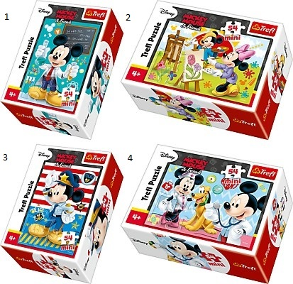 MINI PUZZLE 54 MICKEY MOUSE