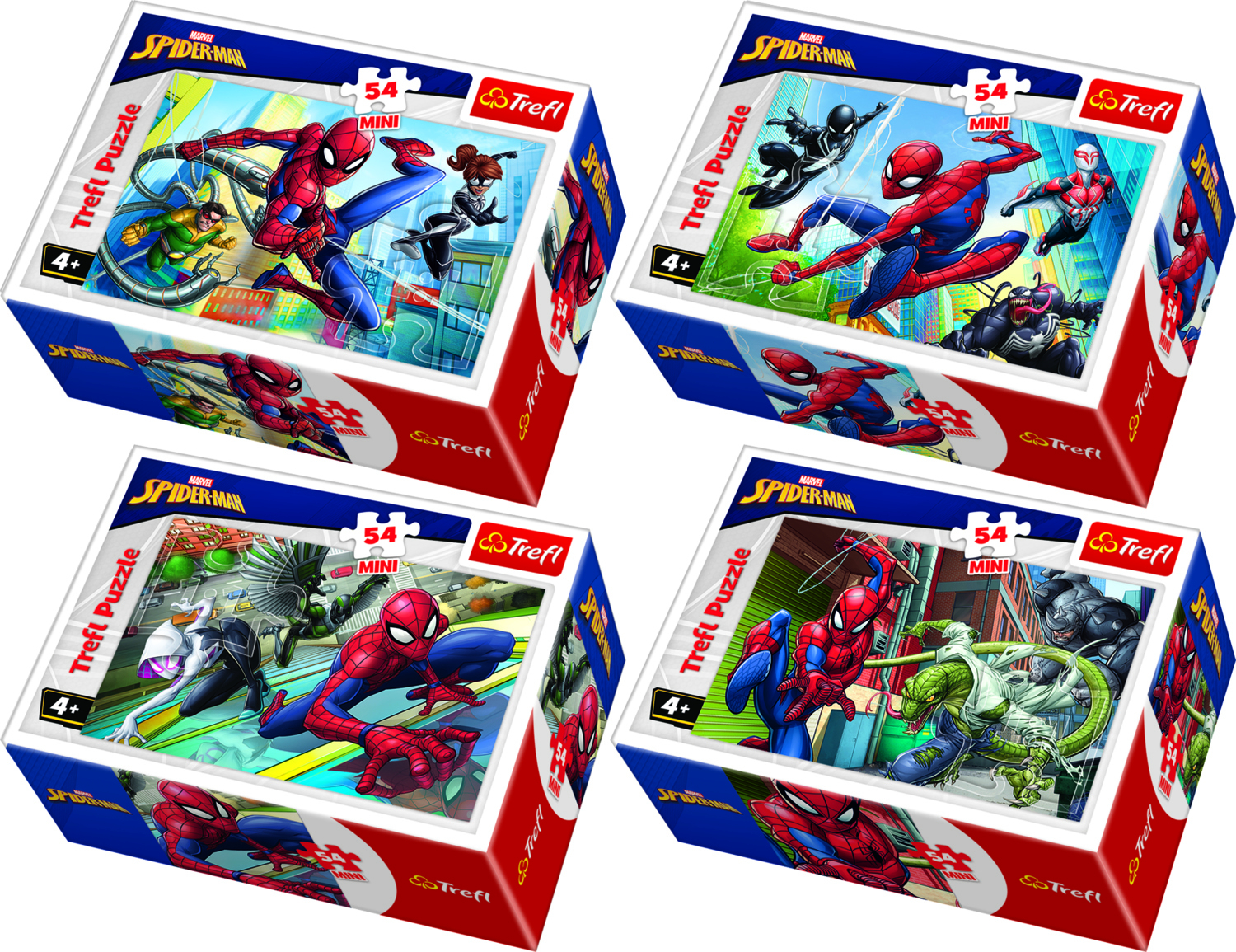 MINI PUZZLE 54 SPIDERMAN
