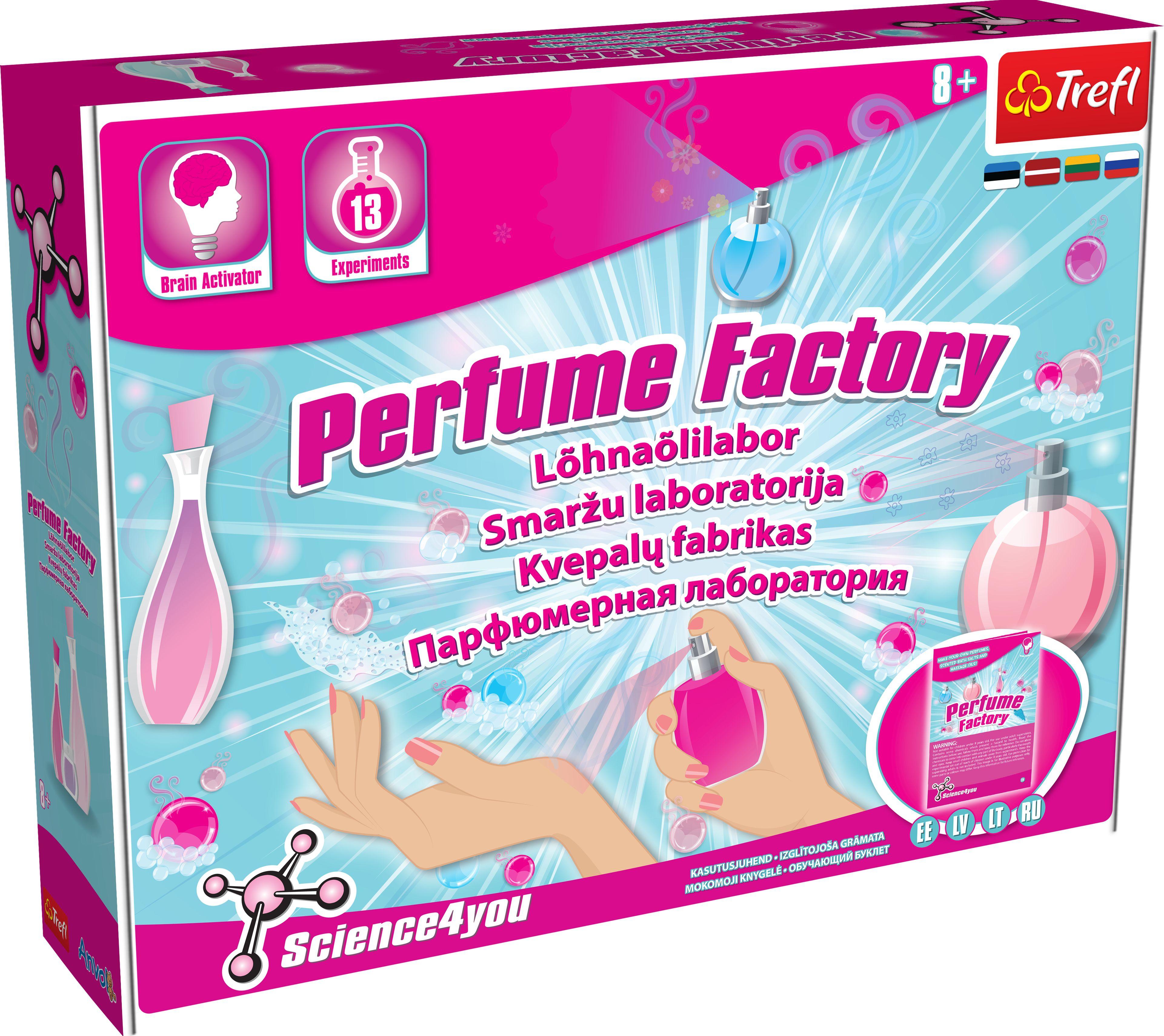 TREFL SCIENCE4YOU Lõhnaõlide laboratoorium