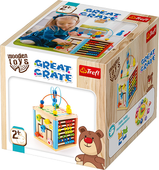 TREFL WOODEN TOYS Great Crate